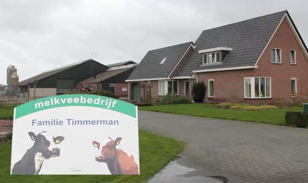 Melkveebedrijf Timmerman heeft gekozen voor de effectieve kuilafdekslang van Engeldot